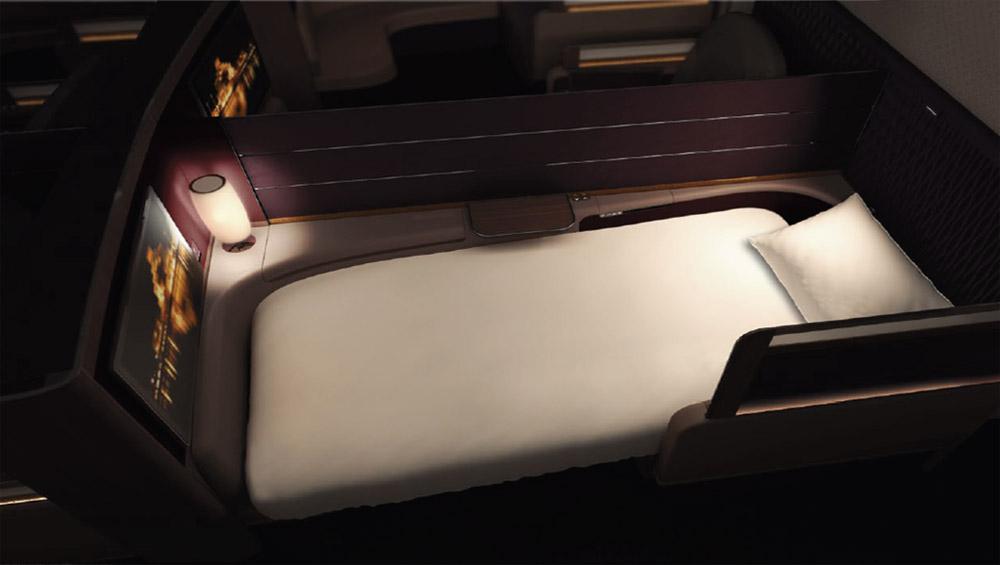 Первый класс в Airbus A380 Qatar Airways