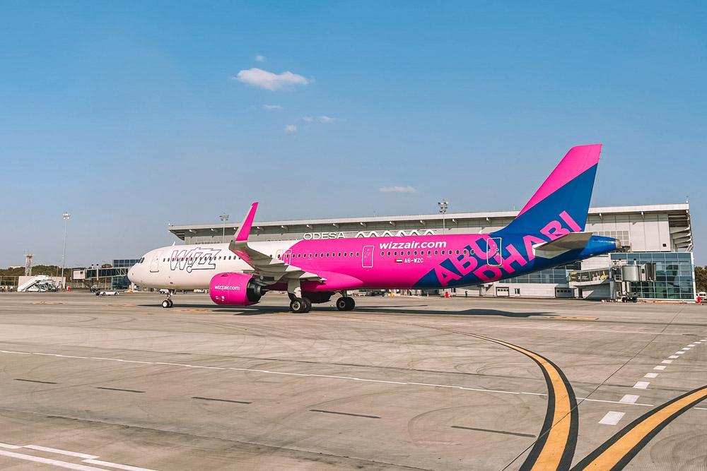 Airbus A321neo Wizz Air Abu Dhabi
