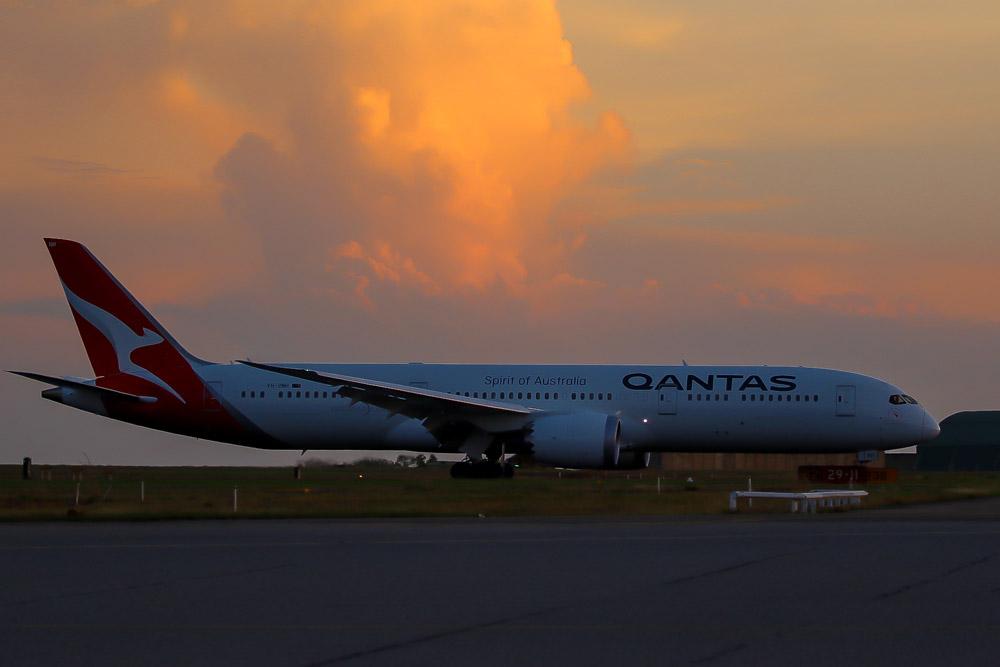 Boeing 787-9 Qantas
