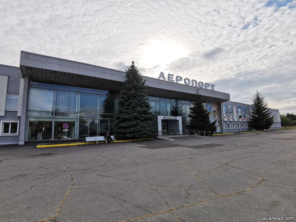 Терминал в аэропорту Полтава