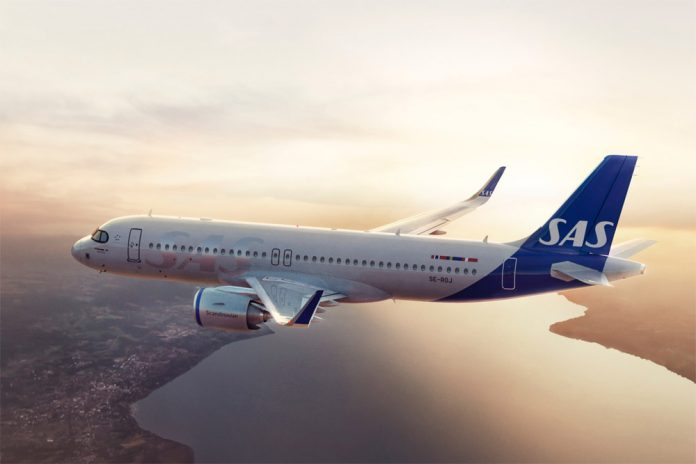 Airbus A320neo Scandinavian Airlines SAS